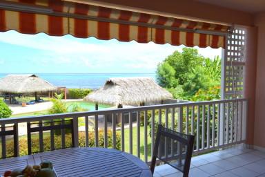 Appartement Kahaia - Tahiti - bord de mer Paea - 1 ch -  piscine - 3 pers