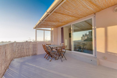 T2 sur les toits avec vue imprenable sur Marseille - Air Rental