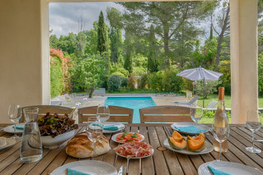 Villa Gaujosa - Art and authenticity in Aix en Provence countryside