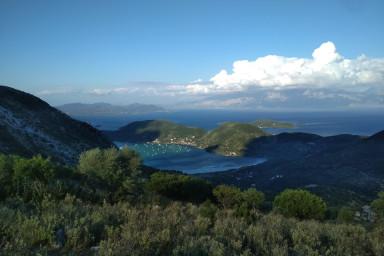 Teren în Fterno cu vedere panoramică la mare