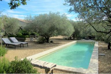 #VillaChic, 8 personnes, piscine chauffée, air conditionné, 10 mm Lourmarin