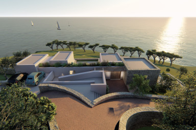 Amazing  spacious  Villa with direct access to the sea open in 2020 or 2021