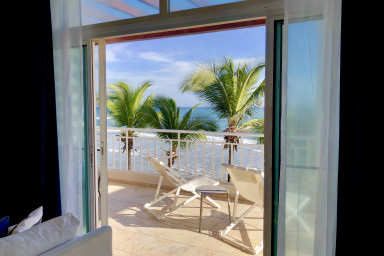 HGTV featured Direct OceanVIEW Penthouse in heart of Cabarete