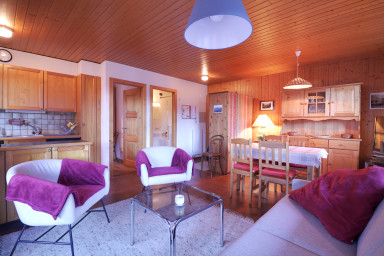 Bel appartement au centre de Champéry avec vue
