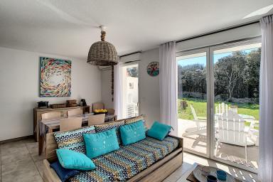 Villa T3 Arba Barona, maquis, piscine