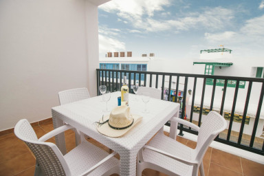 Comfortable sea view apartment in central Playa Blanca - Sara N° 5