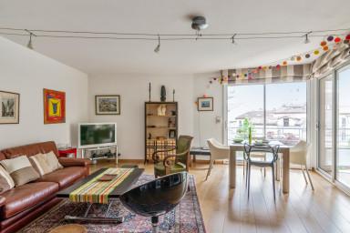 Appartement familial avec terrasse dans le centre de Toulouse