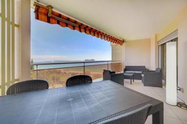 IMMOGROOM - Terrasse vue mer panoramique - 2min des plages - PLAGES/CONGRES