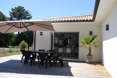 Peaceful house Golf de Lanton - Bassin d'Arcachon - 7 people