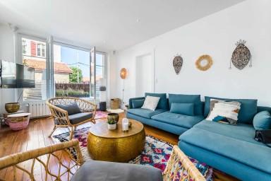 Appartement d'architecte Keyweek à Biarritz avec terrasse et garage privé