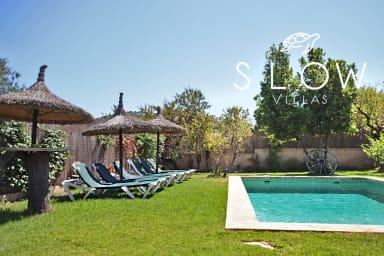 Villa Capdella, charming rustic villa in picturesque village Es Capdella