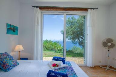 La Villa Katsika : il fascino e una delle più belle viste sul mare dell'iso