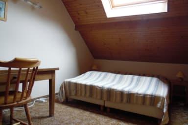 Chambre 1 : 2 lits en 90 jumelés.