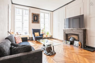 Bright and Elegant 2BR Flat in Part Dieu