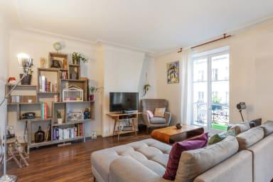 Appartement au style vintage et design, Paris 10e - W205