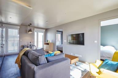 Super appartement 2chb avec balcon à Batignolles