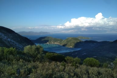 Land in Fterno with Panoramic Sea View