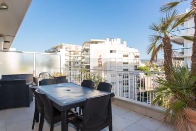 VANEAU ☀️ Nice 2BR on la Croisette, spacious terrace