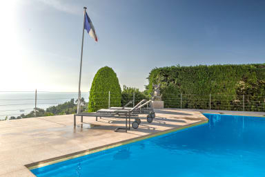 IMMOGROOM - 3*** - Panoramic Sea view - swimming-pool -AC- CONGRESS/BEACHES