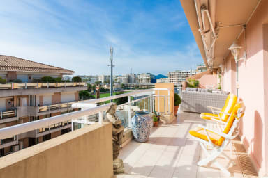 VANEAU ☀️ Sea view apartment in the Palm Beach