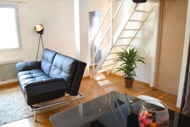 T2 avec mezzanine à Biarritz
