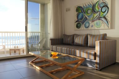 Trumpeldor BEACH FRONT-UNIT 54- Sea suite-balcony