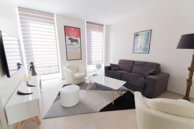 Superbe et moderne appartement dans le quartier de la banane à Cannes