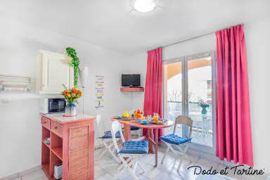 Quiet cute 1 bedroom with terrace - Dodo et Tartine