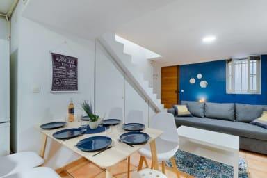 COEUR PANIER - Duplex rénové - 3 chambres