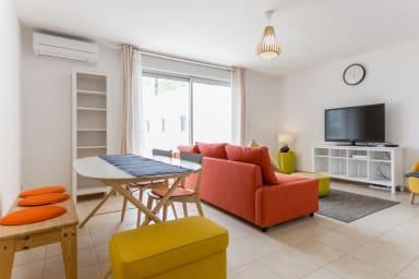 Appartement ensoleillé au coeur de Marseille