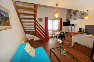 Confortable duplex avec balcon - Le Sabot de Vénus - Nathalie Berthet