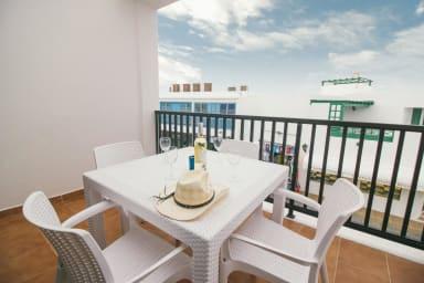 Comfortable sea view apartment in central Playa Blanca - Sara N° 5