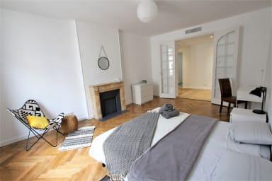 Appartement moderne de 90 m2 dans la rue d'Antibes & Croisette à 200 metres