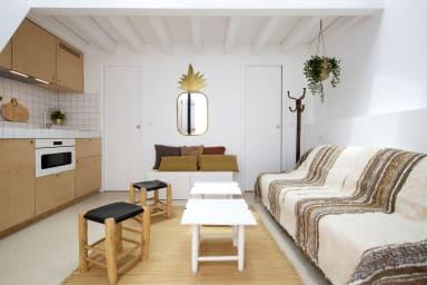 Charmante petite maison bohème avec terrasse à 5 min de la plage - Welkeys