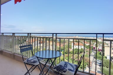 (048)  Exceptional!! Large 2 bedroom with Sea View Terrace and Parking