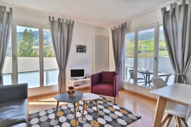Beautiful apartment with exceptional view in Sierre