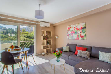 2 bedroom air-conditioned with balcony and parking - Dodo et Tartine