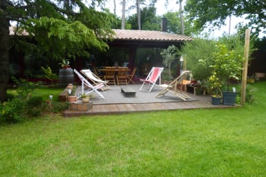 Family house for a successful holiday on the Bassin d'Arcachon
