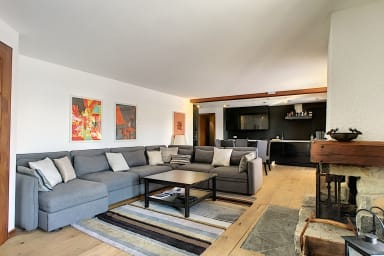 3 bedrooms - Verbier, stunning views, cheminey, Wifi, private pool