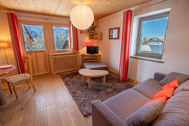 Cosy appartement 4-6 pers skis aux pieds