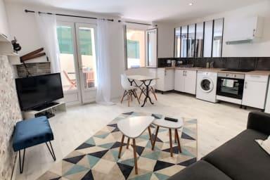 IMMOGROOM- Modern -A/C - Full comfort - Center - Terrace - CONGRESS/BEACHES