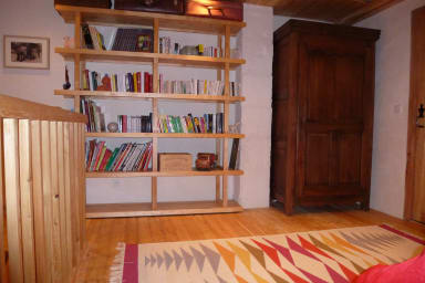 mezzanine bibliothèque