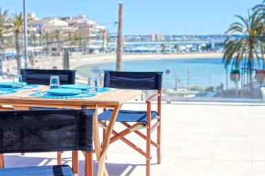 !! 65 m2 Terrace sea front -Can Pastilla-3