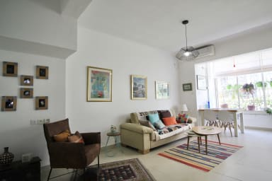 Beautiful 2 bedrooms apartment in Bazel area, quiet and full of light