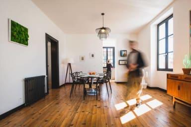 Sublime Appartement 3 chambres Avec Parking et balcon Biarritz centre