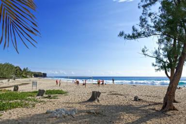 APP. LA CROISIERE BLEUE Côté plage Boucan Canot