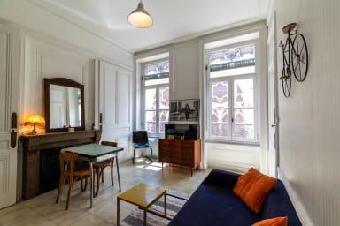 💜 Appartement Rétro Chic dans l'hyper centre de Lyon 💜