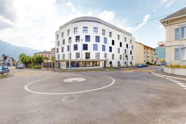 Eingerichtetes Studio #302 - Swiss Resort Aigle