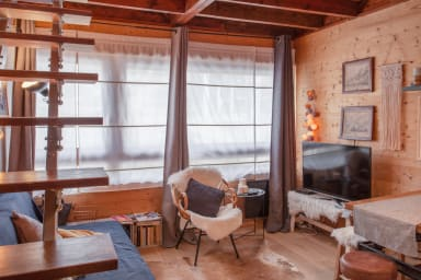 Snug 2-bedroom duplex in the heart of Alpe d'Huez's Old Town – Welkeys