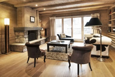 Chalet des Massifs, spacious, calming and thoughful